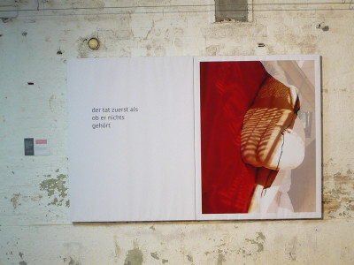 """Beate Tischer """"der tat zuerst"""", C-print, 2015"""