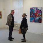 Edith Müller und Robert Hogervorst im Gespräch