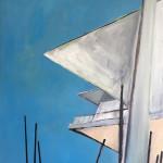 Dresden no.01 I Öl auf Leinwand I 70 x 100 cm