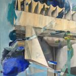 Nordischer Pavillon Biennale I Öl auf Leinwand I 118 x 140cm