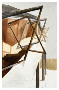 Bernau ADGB Bauhaus I Öl auf Leinwand 200 x 130 cm