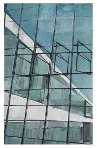 Dessau no.02 Bauhaus I Öl auf Leinwand 200 x 130cm