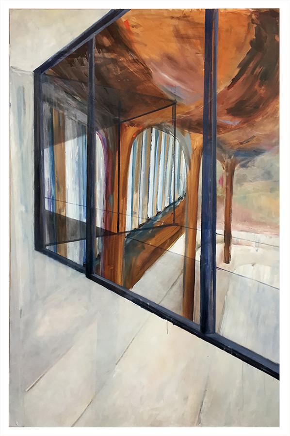 PALAZZO I Öl auf Leinwand 200 x 148 cm