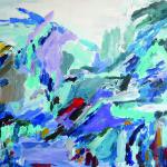 Bruchspuren no1 I Öl auf Leinwand I 100 x 80 cm